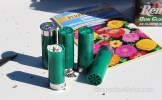custom shotgun shells flower seed garden with a gun words