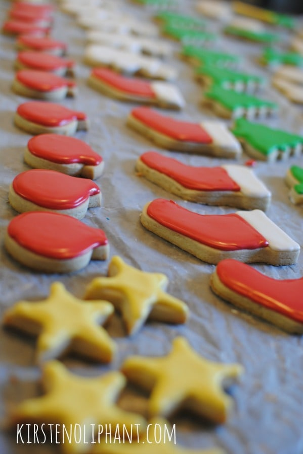 Tips and tricks for decorating sugar cookies.