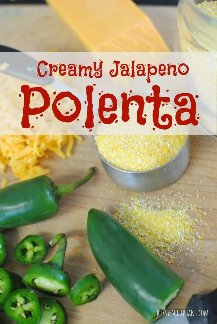 This easy stovetop version of polenta gets a kick from jalapenos and sharp cheddar.