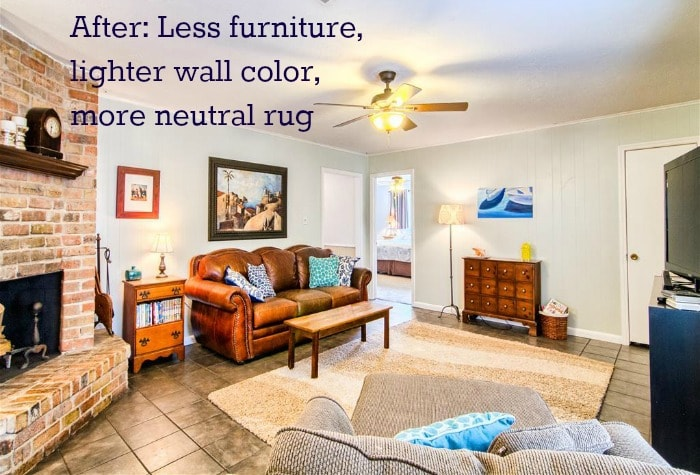 Tips to sell your house fast kirsten oliphant - What colors make a room look bigger and brighter ...