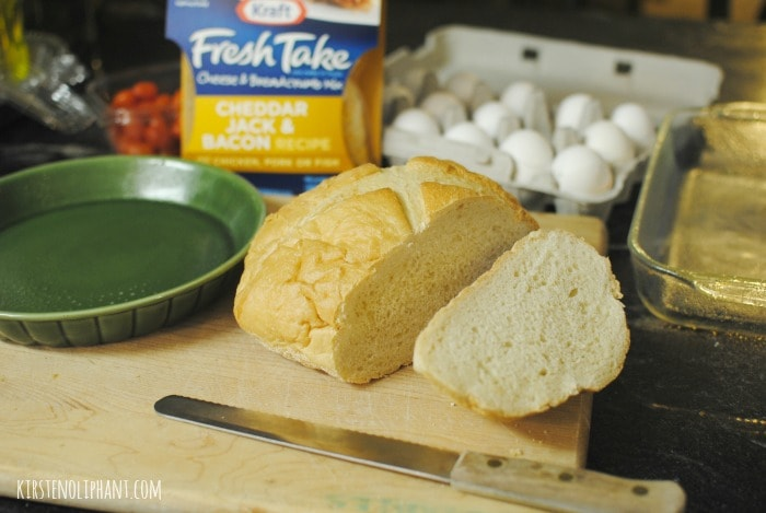 Simple ingredients and Kraft #FreshTake make for a simple and delicious Easter breakfast. #shop #cbias