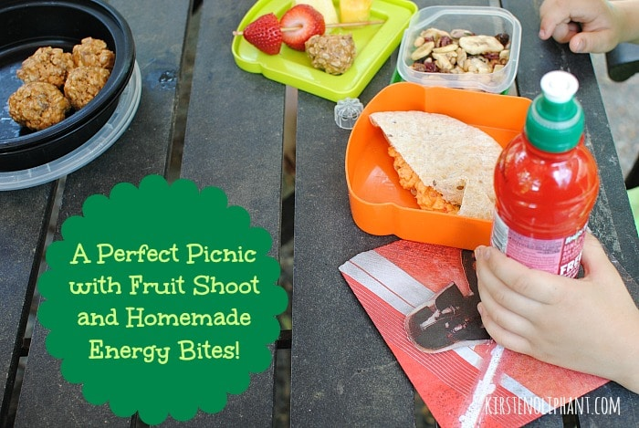 Fruit Shoot is a kid-friendly drink perfect for packed lunches and picnics! #spon