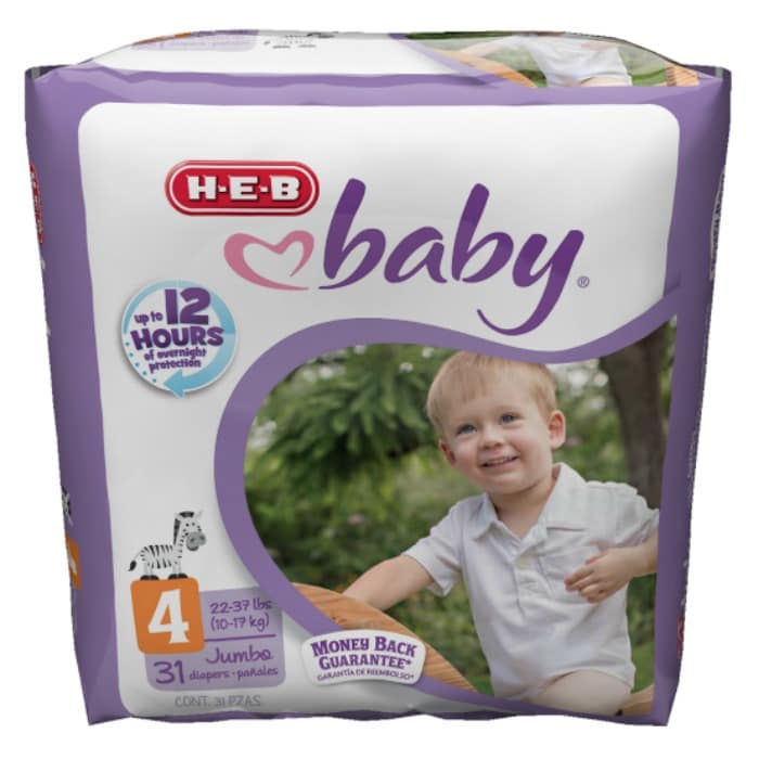 The perfect combination of value and quality: #HEBBabyDiapers AD