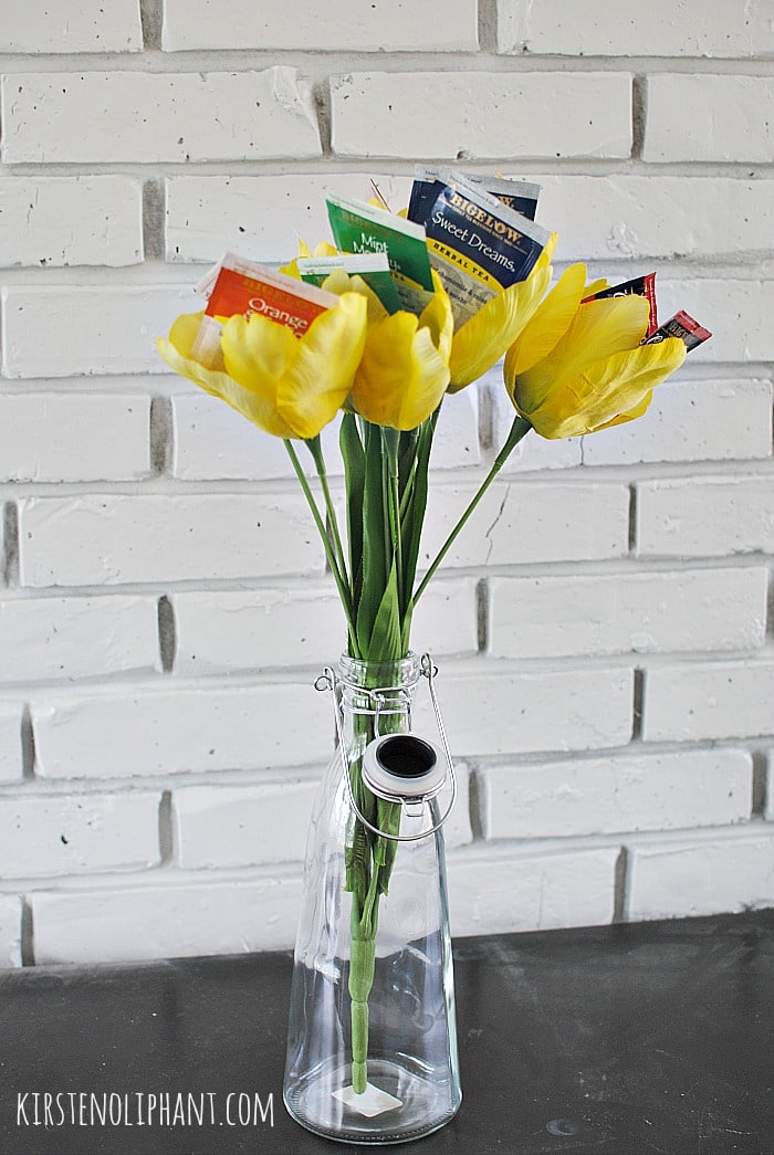 A great mother's day gift: Bigelow tea bouquet. #AmericasTea #shop