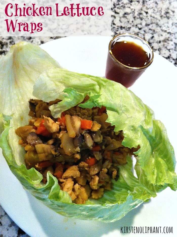 Cool and crisp, tangy and spicy, these chicken lettuce wraps will leave no leftovers. #blogfilmfood
