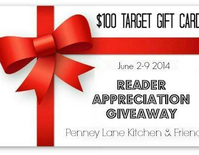 Reader Appreciation Giveaway for May
