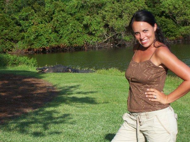 That's one big gator! At Kiawah Island, SC.