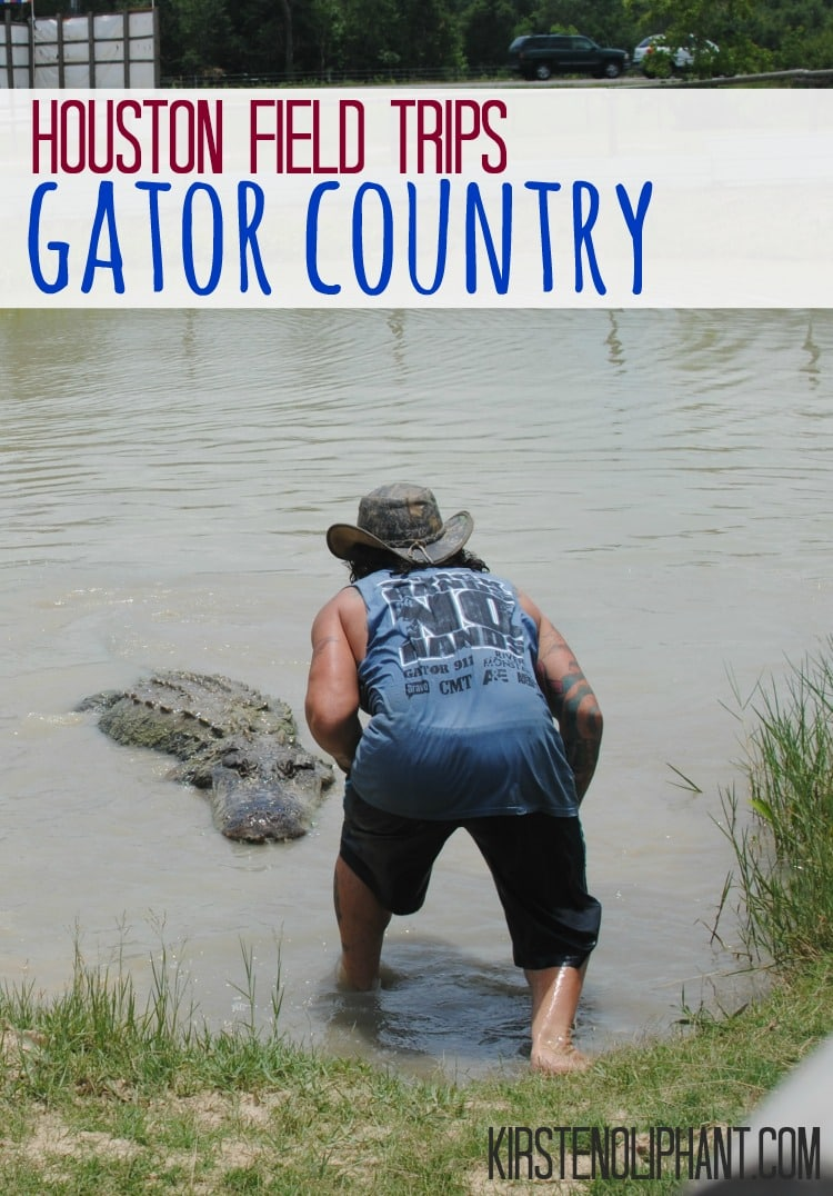 Just over an hour from Houston,Gator Country provides hands-on experieces with animals.