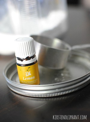 Homemade Detergent with Essential Oils