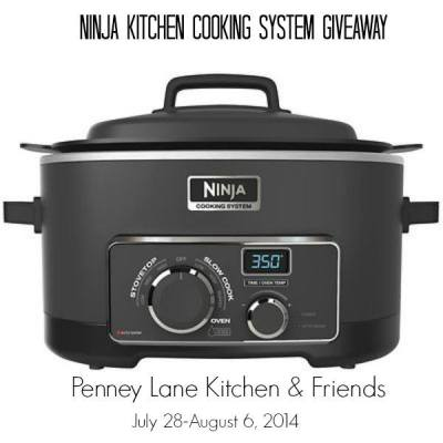 Ninja Cooking System Giveaway with Penney Lane Kitchen