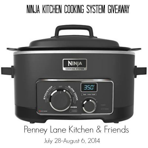 Ninja Cooking System Giveaway