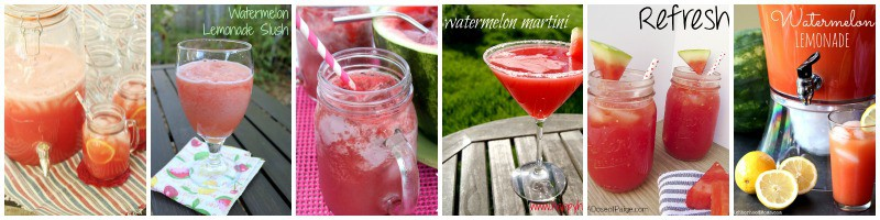 Fabulous watermelon recipes you can drink.