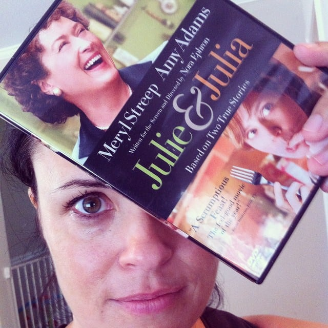 Thoughts on Julie & Julia and blogging.