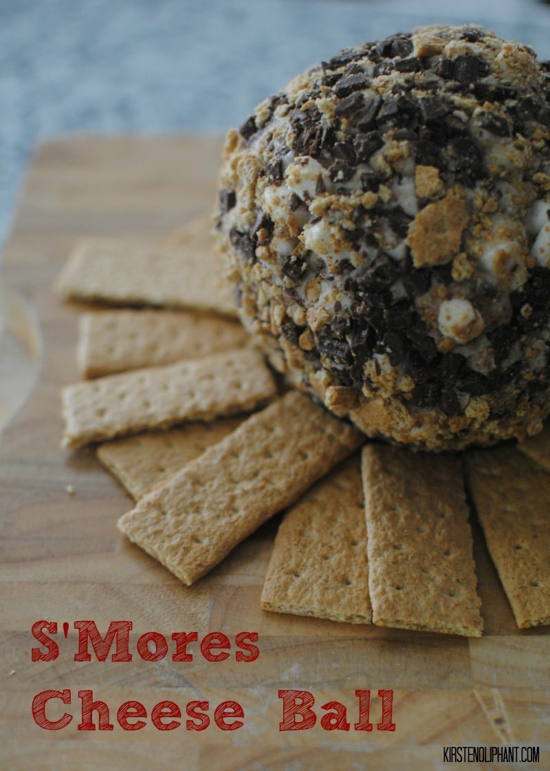 A sweet S'Mores Cheese Ball #PackedwithSavings #shop