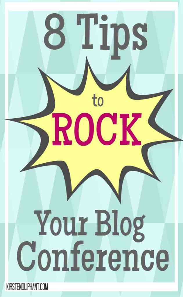 The key to rocking your blog conference is to start EARLY!
