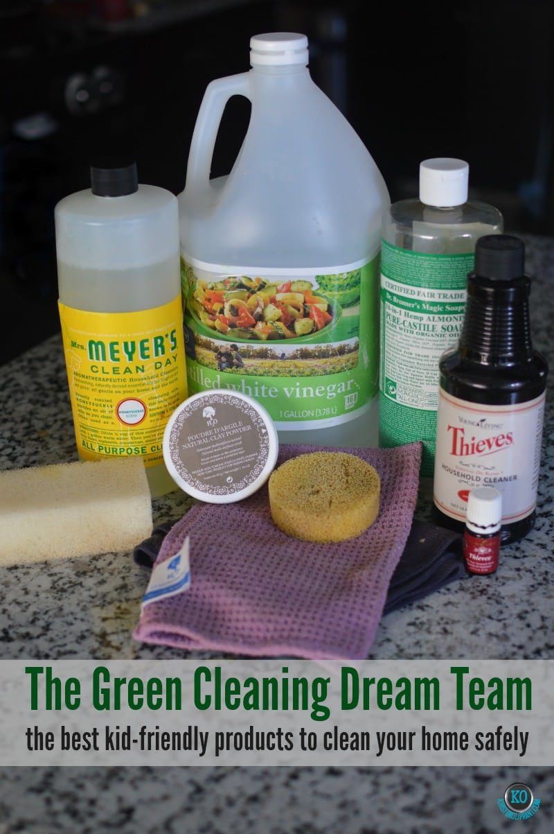 The dream team of green cleaning products!