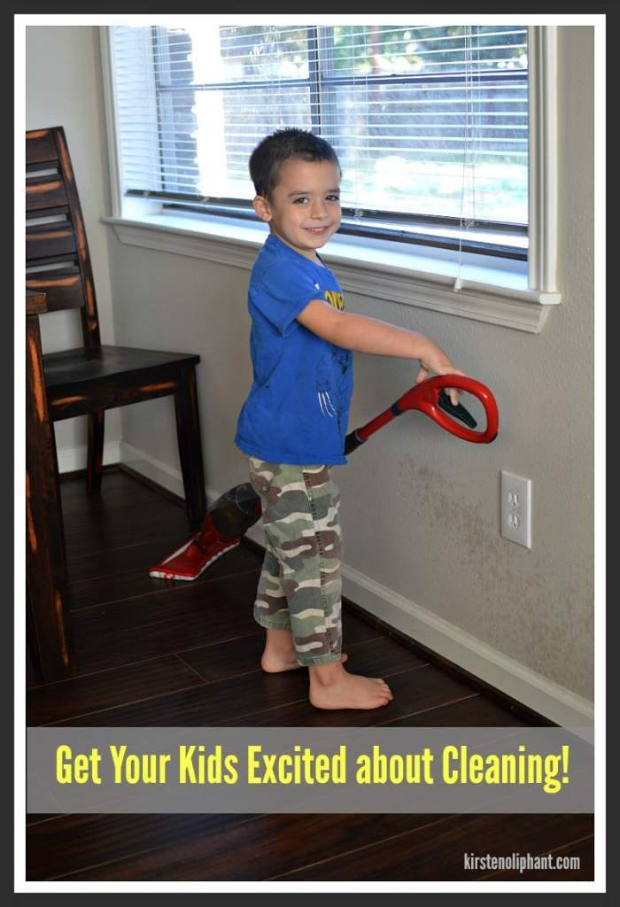 How to get Your Kids Excited about Cleaning! #CleanForTheHolidays #ad