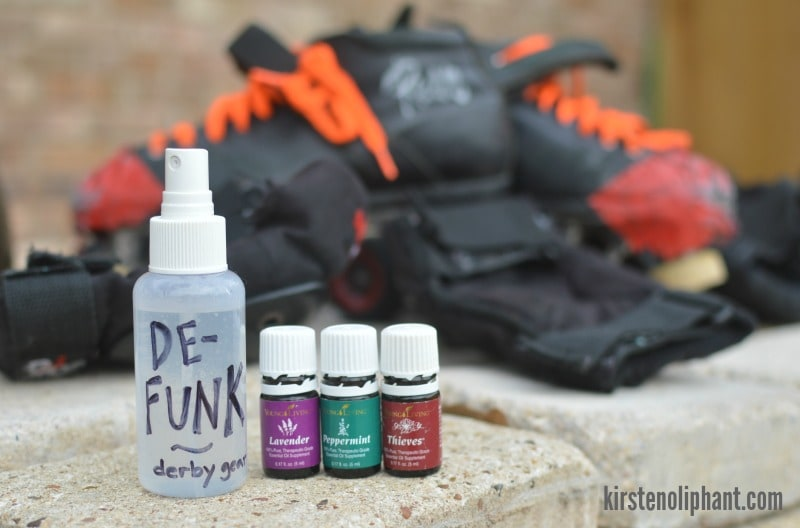Two-step process to get the stink out of your roller derby gear.