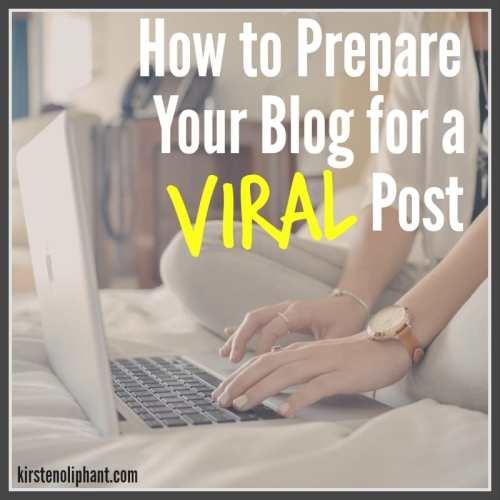 6 Tips to prepare your blog for a viral post.