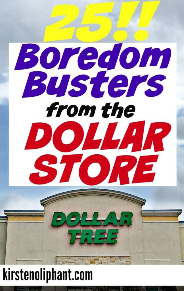 Beat the heat with these 25 boredom busters from the dollar store!