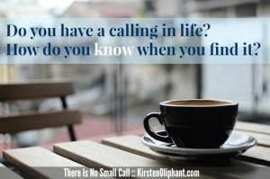 There Is No Small Call is a Biblical study of calling. Join this interactive Bible study!