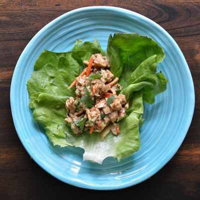 Cool Chicken Lettuce Wraps