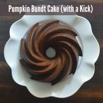 Pumpkin Bundt Cake with a KICK