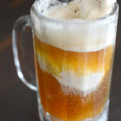 Pumpkin Beer Ice Cream Float