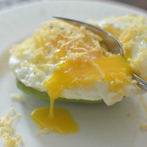 Eggs + Avocado = A Beautiful Breakfast