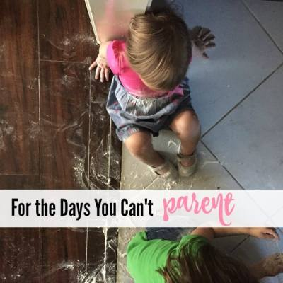 For the Days You Can't Parent