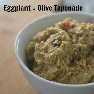 Eggplant and Olive Tapenade