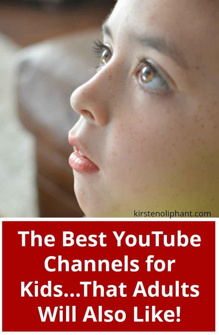 Check out this list of the best YouTube Channels for Kids that adults will also love!