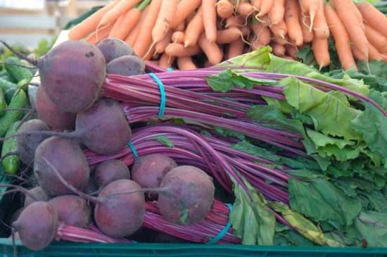 rødbeder og gulerødder