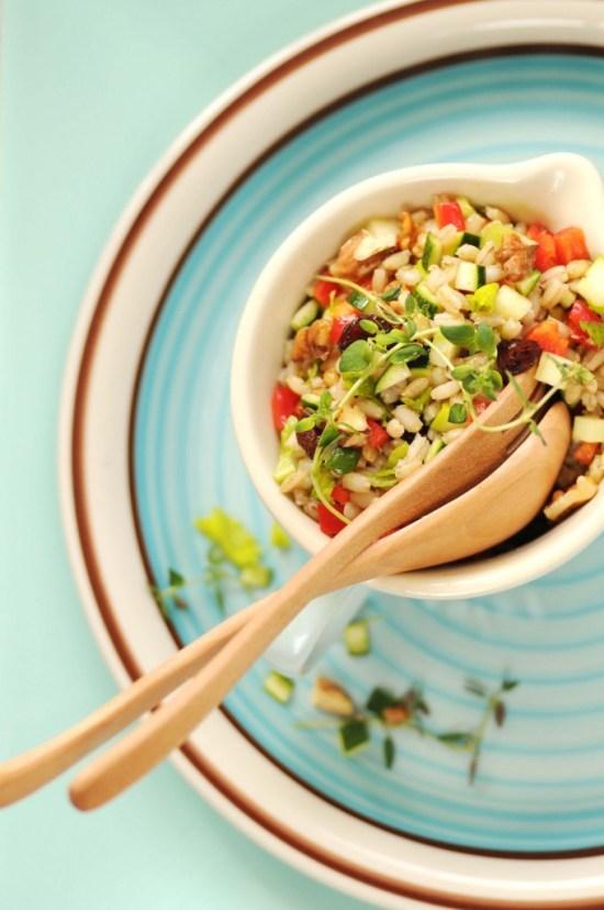 salat af perlebyg m squash
