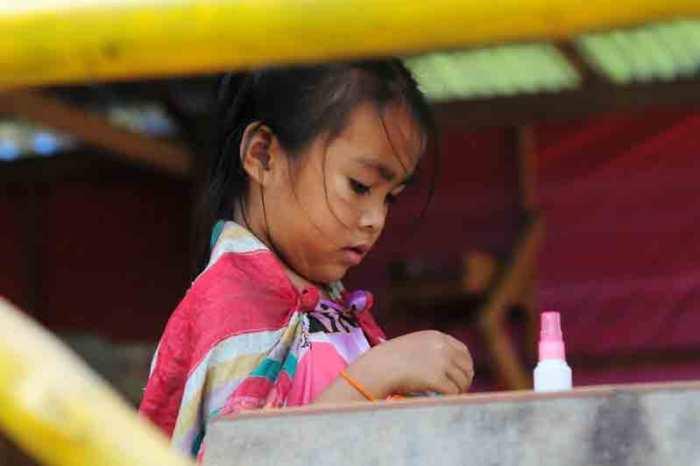 Laos.lille-pige