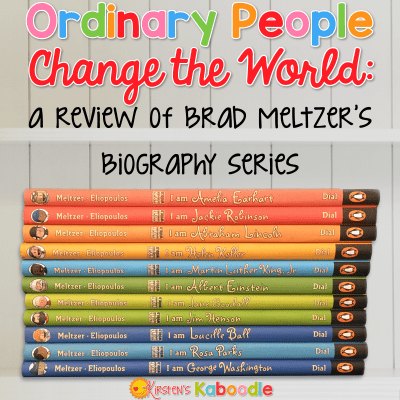 Ordinary People Change the World: A Review of Brad Meltzer's Biography Series