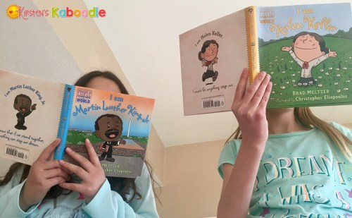 Get students engaged in reading fun biography books with Brad Meltzer's new 'Ordinary People Change the World series... students and teachers LOVE THEM!