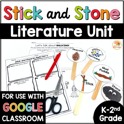 Stick and Stone Activities COVER