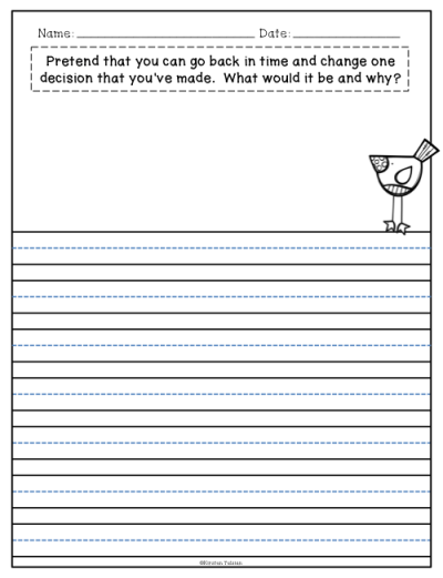 Creative Journal Prompts for 2nd, 3rd, and 4th Grade