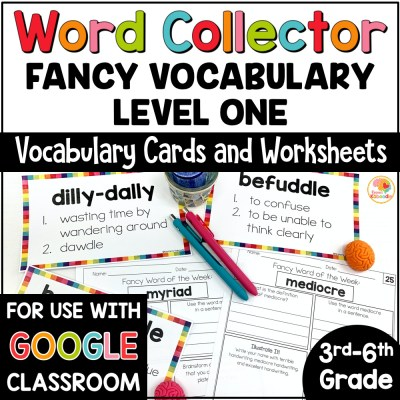 Word of the Week: Fancy Words Word Collector COVER