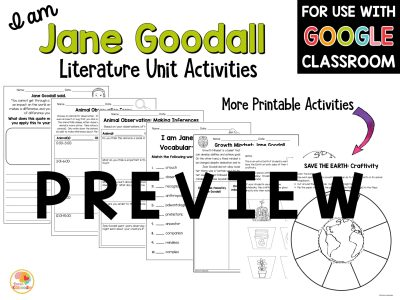 jane-goodall-literature-unit