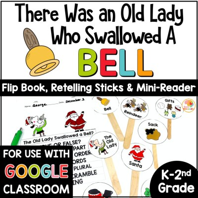There Was an Old Lady Who Swallowed a Bell Activities COVER