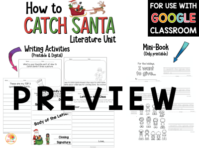 How to Catch Santa Activities PREVIEW