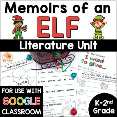 Memoirs of an Elf Activities COVER