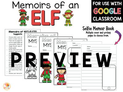 Memoirs of an Elf Activities PREVIEW