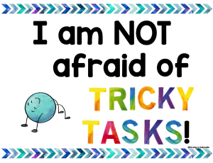 Use positive affirmations to help students shift from a fixed mindset to a growth mindset