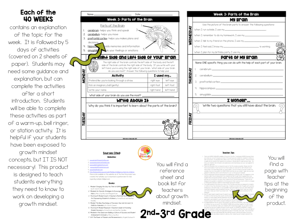Growth Mindset Bell Ringers MULTI-LEVEL BUNDLE with