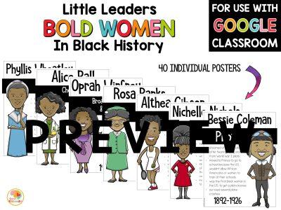 little-leaders-bold-women-in-black-history-posters