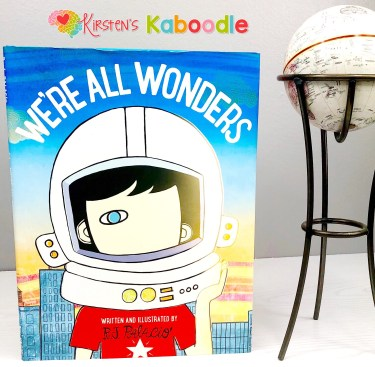 Growth mindset topics for We're All Wonders include, tackling challenges, overcoming obstacles, positive and negative self-talk, and confidence.