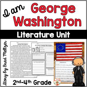 I am George Washington by Brad Meltzer Literature Activities
